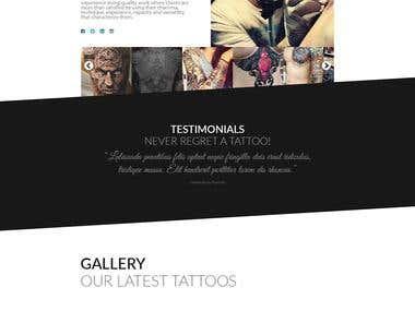 Tattoo web site!