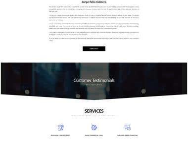 Website - Jorge Cabrera