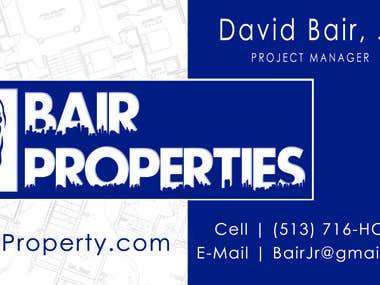 Bair Properties Business Card