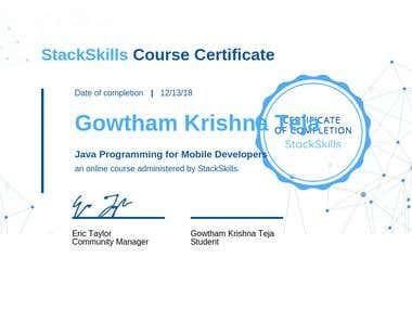 Java for mobile development