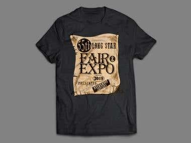 Fair and Expo T-shirt Design