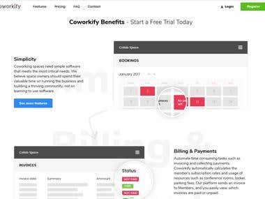 Web Site Build (https://coworkify.com/)