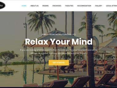 Resort Booking Website + SEO