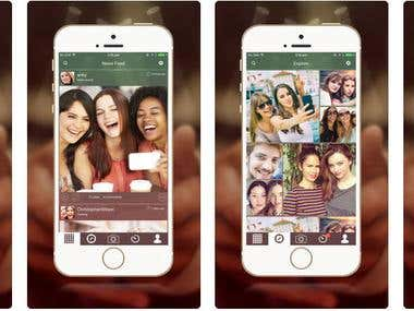 Social Networking App (iOS)