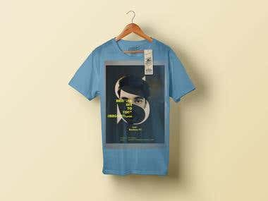 tshirt design and typography
