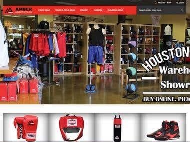 Ambersports - Ecommerce Website