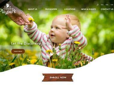Web Design-Victoria Playpark