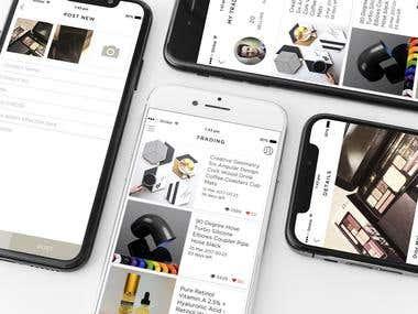 App Design-Trading Platform