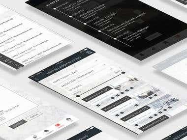 App Design-Meeting Room Booking