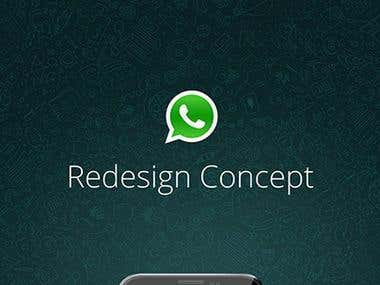 Whatsapp Redesign Concept.