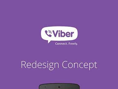 Viber Redesign Concept.