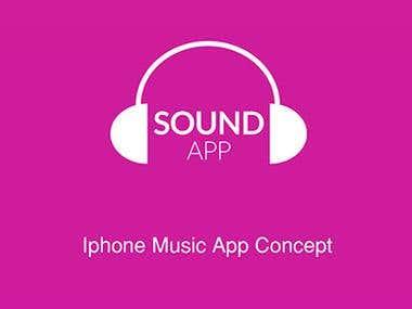 Iphone Music App.