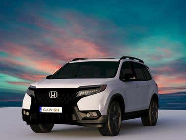 Honda Passport Elite AWD -2019 DESIGN