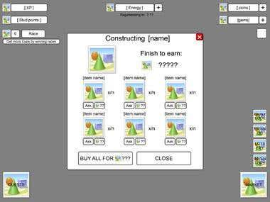 Horses GUI - Unity3D