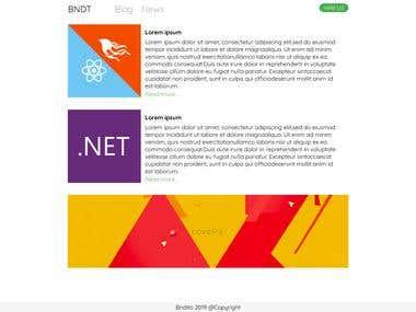 BNDT news and blog
