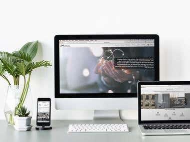 Brücke - Web Design
