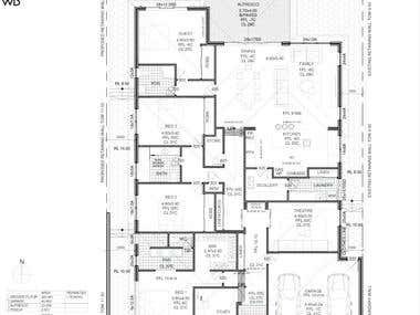 2D Floorplan Stamped Service