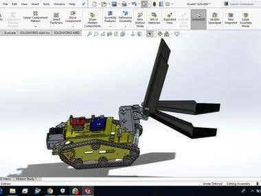Robotic EDU toy for Penn U
