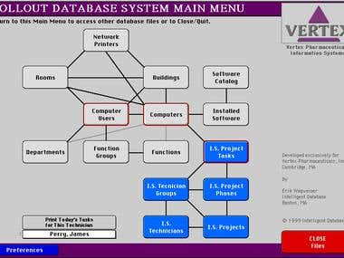 Technology Assets Database for I.T. Department