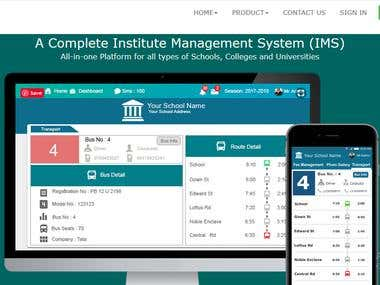 Campuslinq- Complete Management System App