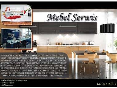 Interior design company poster