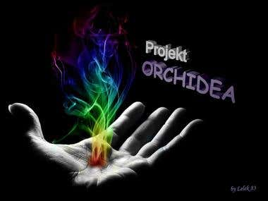 Project Orchidea poster design