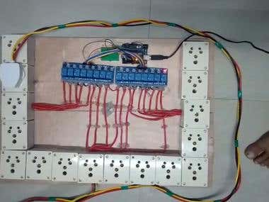 16 channel relay control using arduino
