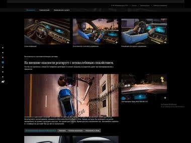 React, Laravel, website and graphic design.
