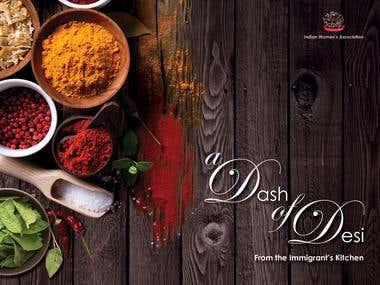 "Cookbook ""A Dash of Desi'"