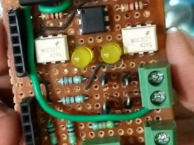 Triac Based 2 Channel circuit.