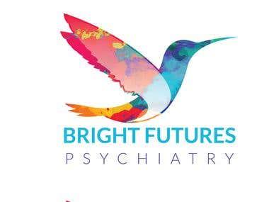 Logo Design Bright Futures Psychiatry
