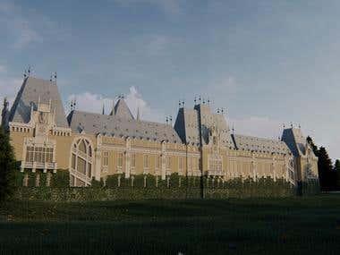 Palatul Culturii Iasi, Romania