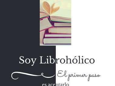 "Diseño ""Soy Librohólico"""