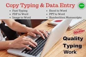 COPY TYPING