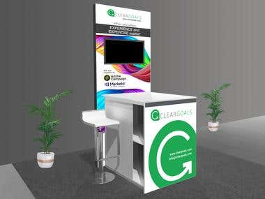 Small Kiosk Conference Banners