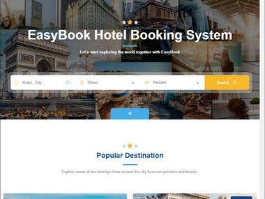 Perfect Booking site (has great design)