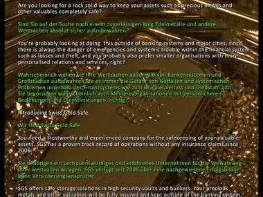 Asset Security Service Promo Translation