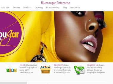 ecommerce cosmetic store
