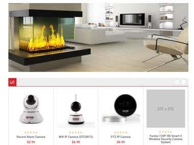 ecommerce website store