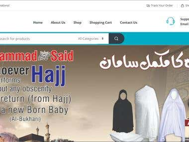 Altaiba International Islamic Ecommerce Website