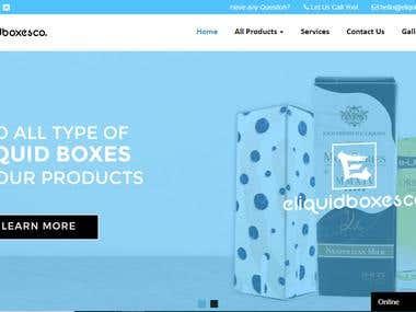 Eliquid Boxes Website