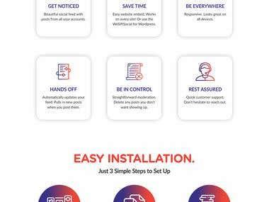 We Sift Social Website UI/UX Design