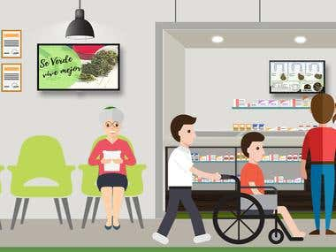 BG Green Dispensary Graphics design 2