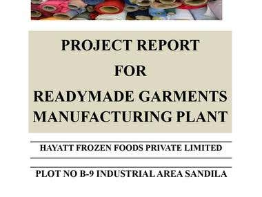 Financial Analysis of a Ready made Garment Factory