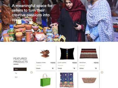Mansurah (An E-commerce and Course Management Platform)