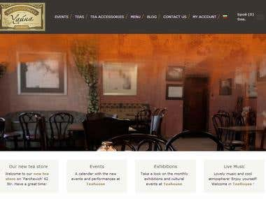 Teahouse Website