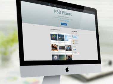 PSD Planet website