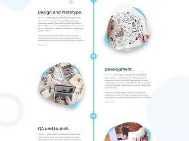 Timplicity Upcoming Design - Service page