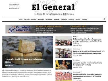 Online News Website - $5,880