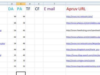 RSS finder